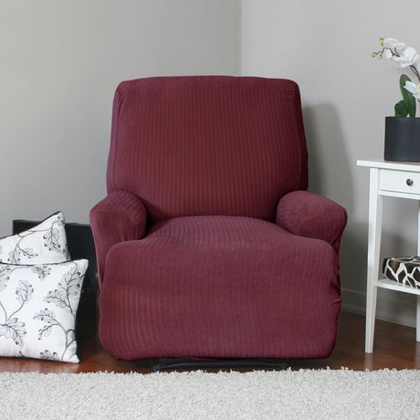 Housse extensible pour fauteuil inclinable spencer de sure for Housse causeuse inclinable