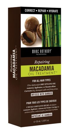 Repairing macadamia oil treatment