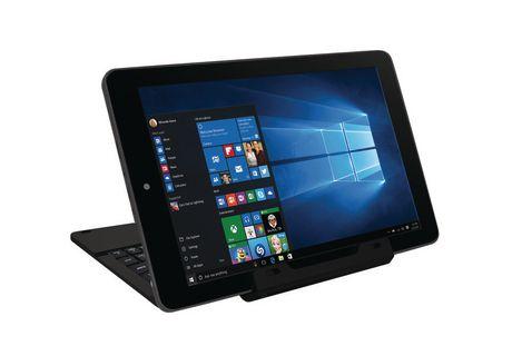 tablette cran tactile de 10 po 32 go avec clavier de rca noire. Black Bedroom Furniture Sets. Home Design Ideas
