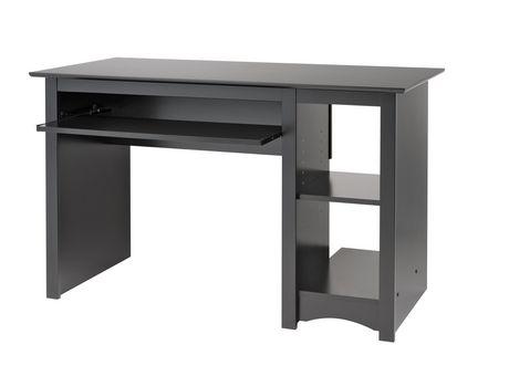 bureau d ordinateur noire. Black Bedroom Furniture Sets. Home Design Ideas