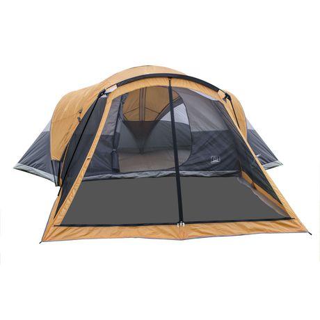 tente familiale en d me pour 8 personnes avec porche moustiquaire de ventura. Black Bedroom Furniture Sets. Home Design Ideas