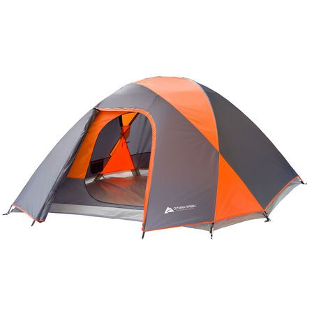 Ozark Trail 5 Person Dome Tent with Full Coverage Rainfly ...