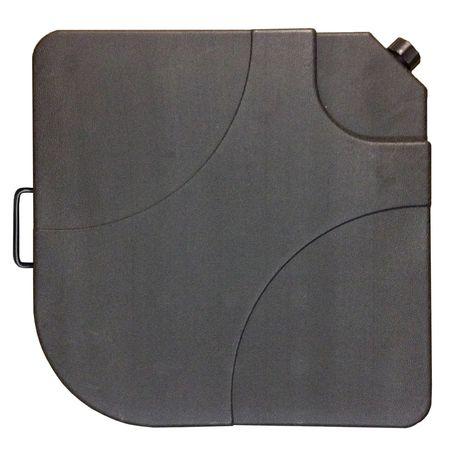 ensemble de 4 poids de base pour parasol de 35 livres en. Black Bedroom Furniture Sets. Home Design Ideas