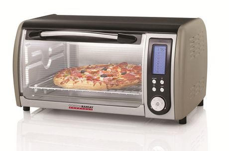 Gordon Ramsay Everyday Digital 6 Slice Toaster Oven Walmart.ca