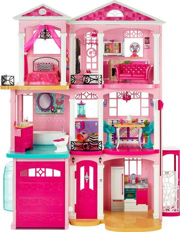 ensemble de jeu maison de r ve de barbie. Black Bedroom Furniture Sets. Home Design Ideas