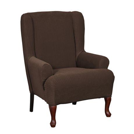 Housse extensible pour fauteuil oreilles spencer de sure for Housse extensible fauteuil