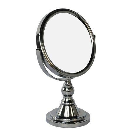 Miroir de courtoisie en chrome mainstays walmart canada for Miroir walmart