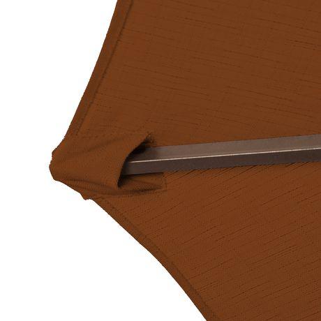 Parasol octagonal en porte faux de 3 m 10 pi en for Porte 0 faux