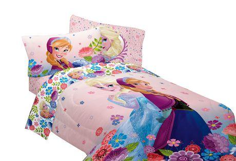 Disney Frozen Quot Floral Breeze Quot T F Comforter Walmart Ca