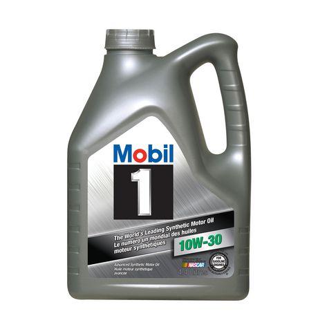 Mobil 1 10w 30 4 4l for 5w30 vs 10w30 motor oil