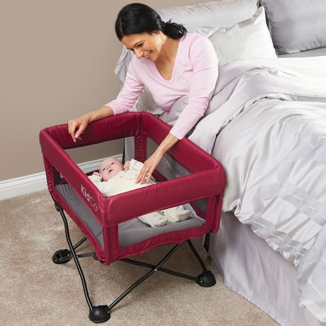Kidco 174 Dreampod 174 Portable Bassinet Cranberry Walmart Ca