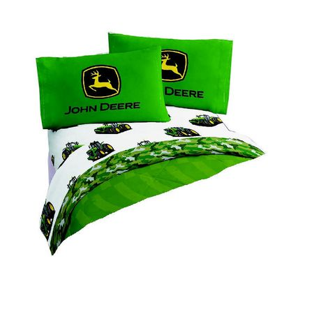 John Deere Twin Sheet Set | Walmart.ca