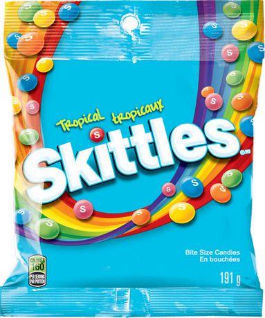 Skittles Tropical Bite Size Candies | Walmart.ca