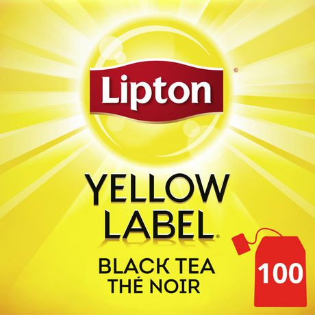 Lipton 174 Yellow Label Tea Bags Walmart Ca