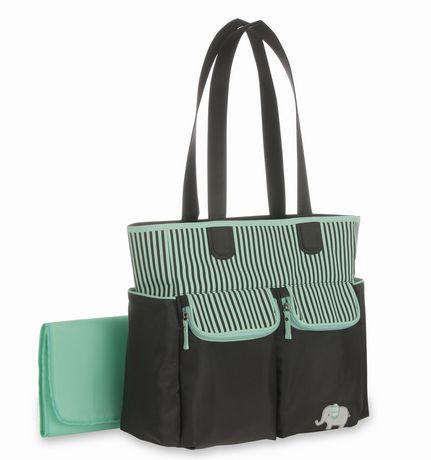 child of mine diaper bag green. Black Bedroom Furniture Sets. Home Design Ideas