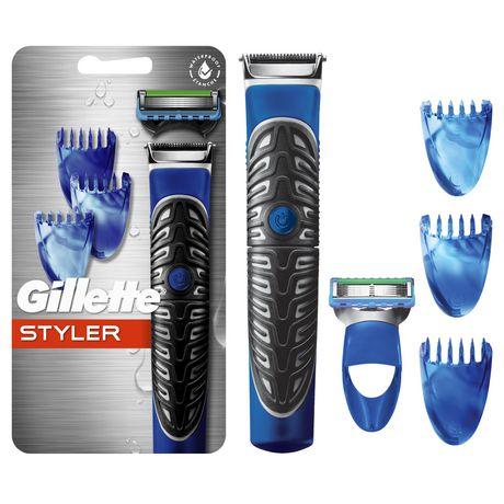 The All-Purpose Gillette Styler: Beard Trimmer, Razor & Edger