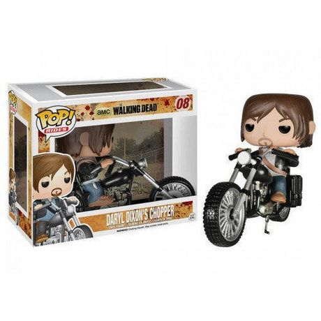UPC 889698047135 product image for Funko Pop Rides: Walking Dead - Daryl With Bike Vinyl Figure | upcitemdb.com