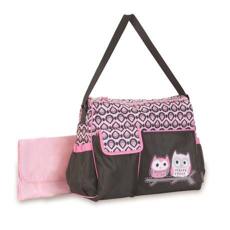 baby boom owl duffle diaper bag. Black Bedroom Furniture Sets. Home Design Ideas