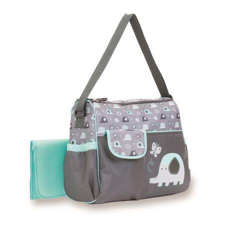baby boom elephant duffle diaper bag. Black Bedroom Furniture Sets. Home Design Ideas
