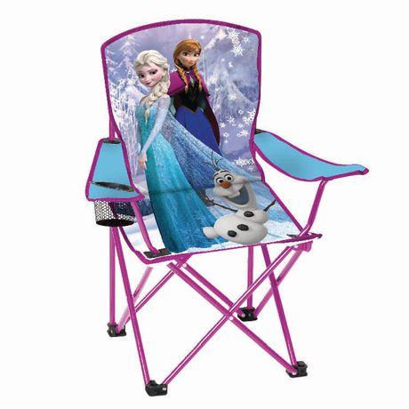 fauteuil pliant pour enfant la reine des neiges de disney. Black Bedroom Furniture Sets. Home Design Ideas