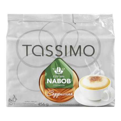 tassimo nabob cappuccino t disc coffee. Black Bedroom Furniture Sets. Home Design Ideas