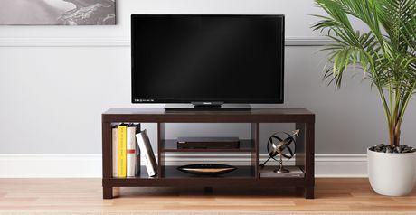 Hometrends Espresso Hollow Core Tv Stand Walmart Ca