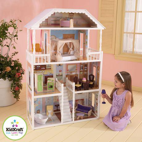 Maison de poupée Savannah Dollhouse  Kidkraft  Maison de poupée Savannah