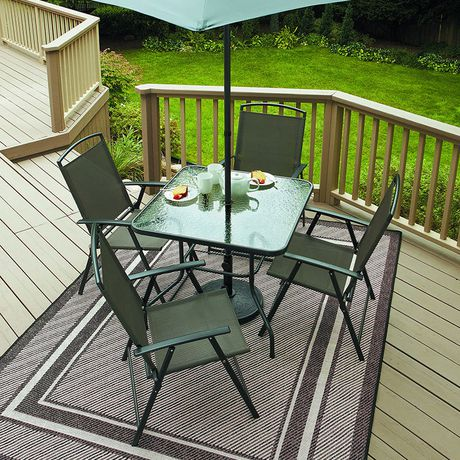 piece sling folding patio set cranston 6 piece sling folding patio set
