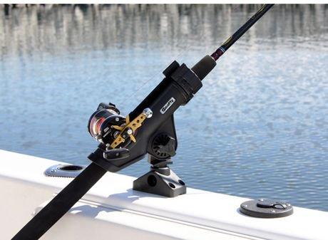 Scotty plastic power lock rod holder w side deck for Walmart fishing pole holders