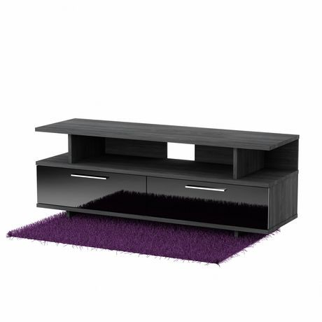 South Shore Reflekt TV Stand with Drawers, for TVs up to ...