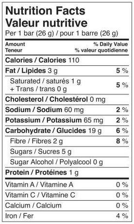 Quaker Chewy Chocolate Chip Granola Bars | Walmart.ca Quaker Granola Bars Nutrition Facts