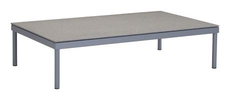Table caf 1 pi ce en granite rev tement et verre for Table exterieur walmart
