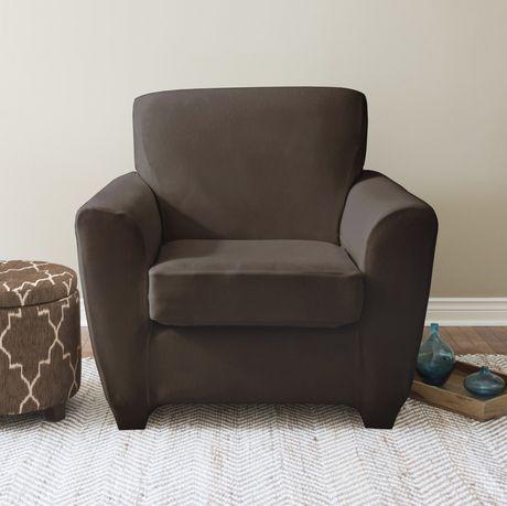 surefitmc shiloh housse 2 pi ces extensible pour fauteuil. Black Bedroom Furniture Sets. Home Design Ideas