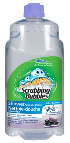 Scrubbing Bubbles Automatic Shower Cleaner Refill Refreshing Spa