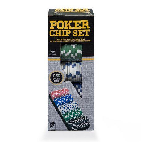 poker chips set walmart