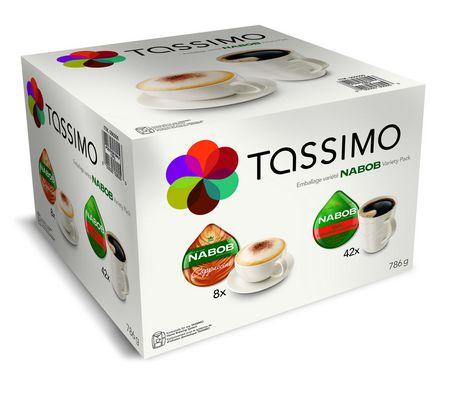 tassimo nabob variety pack t discs coffee. Black Bedroom Furniture Sets. Home Design Ideas