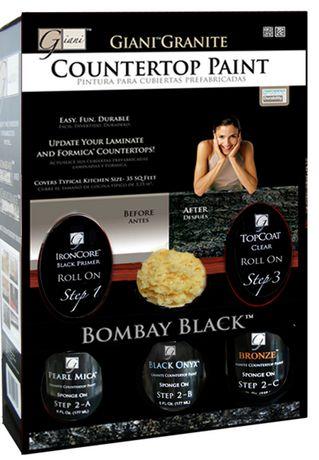 Giani Countertop Paint Walmart : Bombay Black Walmart.ca