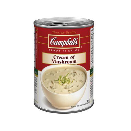 Campbell 39 S Ready To Enjoy Cream Of Mushroom Soup