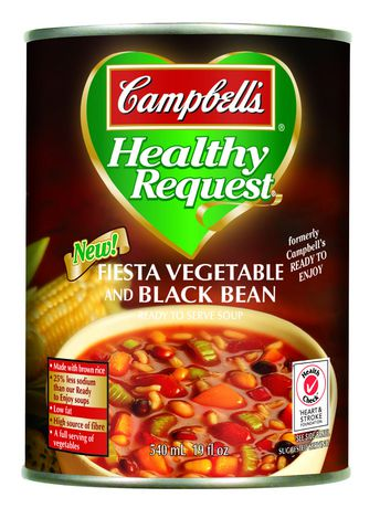 ... Healthy Request Fiesta Vegetable & Black Bean Soup | Walmart.ca