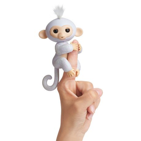 Fingerlings Sugar Baby Glitter Monkey Toy Lr44