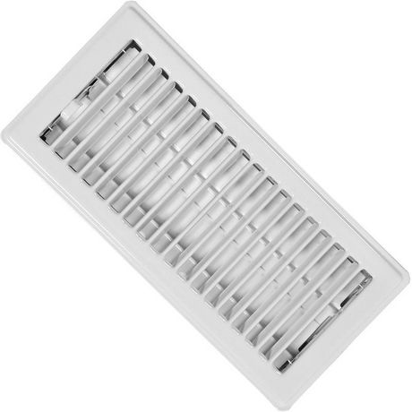 Imperial 4 x 10 white floor register rg0247 a for 10 x 10 floor register