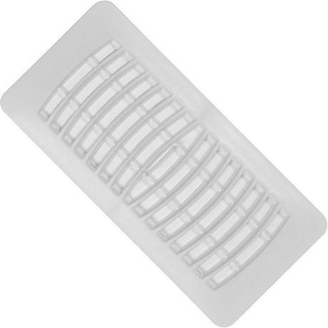Imperial registre de plancher plastique 4 po x 10 po for Plancher exterieur plastique