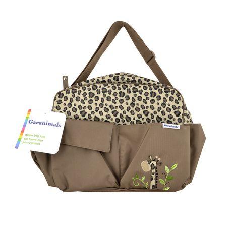 garanimals diaper bag tote cheetah. Black Bedroom Furniture Sets. Home Design Ideas