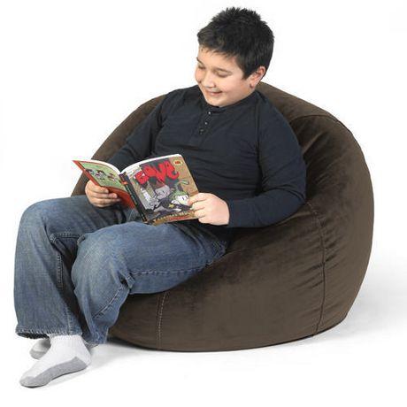 fauteuil poire pour ados de comfykids walmart canada. Black Bedroom Furniture Sets. Home Design Ideas