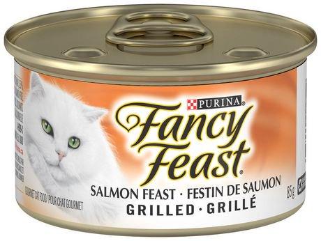 Purina md fancy feast md festin de saumon grille en sauce nourriture pour chats walmart canada - Sauce pour saumon grille barbecue ...