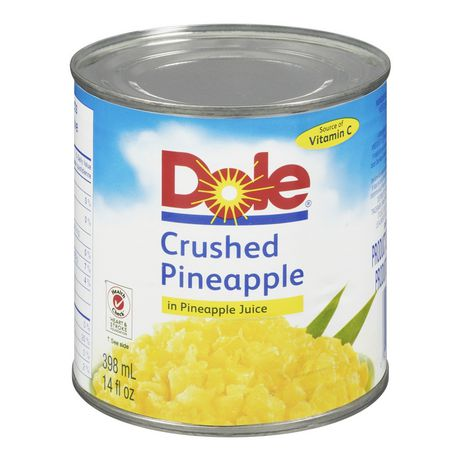 Dole Crushed Pineapple in Pineapple Juice | Walmart.ca