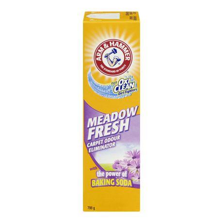 Arm Amp Hammer 174 Plus Oxiclean 174 Meadow Fresh Carpet Odour