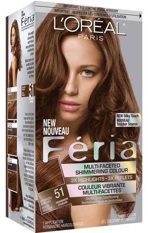 L Or 233 Al Paris Feria 51 Shimmering Haircolour Gel Walmart Ca