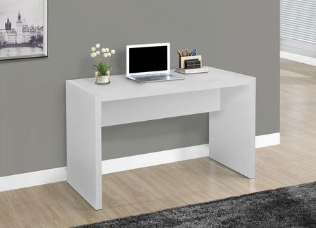 monarch specialties meuble pour ordinateur blanc. Black Bedroom Furniture Sets. Home Design Ideas