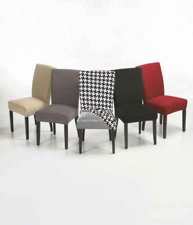 housse extensible pour chaise harlow de salle manger. Black Bedroom Furniture Sets. Home Design Ideas